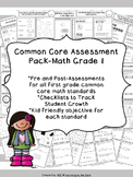 Common Core Math Assessment Grade 1