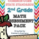 Common Core Assessment Pack for 2nd Grade {Math}
