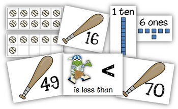 Common Core: Batter Up! Place Value Unit