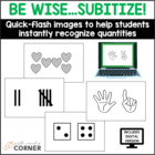Common Core: Be Wise-Subitize, Developing Instant Recognit