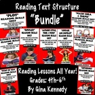 Common Core Bundled Reading Skill Lessons, 86 Pages of Ext