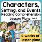 Common Core Character Study/Intro to Reading Workshop Unit 1