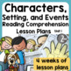 Common Core Character Study/Introduction to Reading Workshop