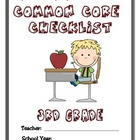 Common Core Checklist - 3rd Grade - ELA & MATH