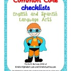 Common Core Checklist- English and Spanish