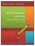 Common Core Checklists for Narrative Informative and Opini