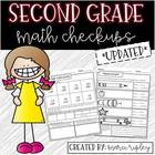 Common Core Checkups -- 2nd Grade Math -- An Assessment fo