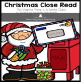 Close Read for Christmas Book Yes Virginia, by Chris Plehal