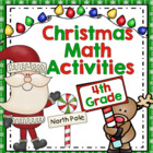 Common Core Christmas Math Games Grade 4
