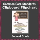 Common Core Clipboard Flipchart Resource (2nd Grade)