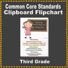 Common Core Clipboard Flipchart Resource (3rd Grade)