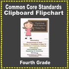 Common Core Clipboard Flipchart Resource (4th Grade)