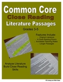 Common Core Close Reading Practice (Grades 3-5)