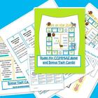 Common Core Commas Game and Bonus Task Cards test prep!