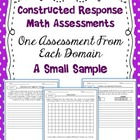 Common Core Constructed Response Freebie
