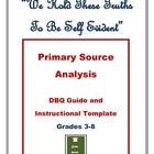 Common Core DBQs: Primary Source Analysis Guide &amp; Student 