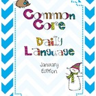 Common Core Daily Language January