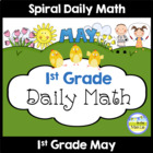 Common Core Daily Math for 1st Grade - May Edition