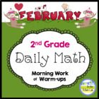 Common Core Daily Math for 2nd Grade - February Edition