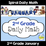 Common Core Daily Math for 2nd Grade - January Edition