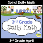 Common Core Daily Math for 3rd Grade - April Edition