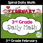 Common Core Daily Math for 3rd Grade - February Edition