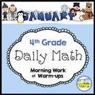 Common Core Daily Math for 4th Grade - January Edition