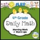 Common Core Daily Math for 4th Grade - May Edition