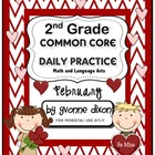 Common Core Daily Practice for Second Grade (February)
