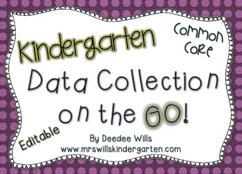 Common Core Data Collection on the GO-Kindergarten