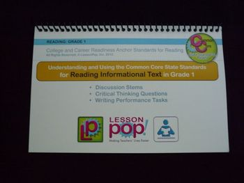 Common Core Discussion Stems for First Grade