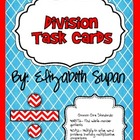 Common Core Division Task Cards