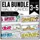 Common Core ELA Cards 3-5 Mega Pack