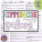 Common Core ELA Galore {Kindergarten checklist}