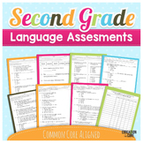 Language Assessments  ~ Common Core ELA 2nd Grade