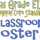Common Core Eighth Grade ELA Posters (I can . . . )