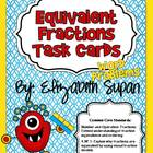 Common Core Equivalent Fractions Task Cards