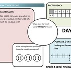 Common Core Explore Grade 3 Daily Spiral