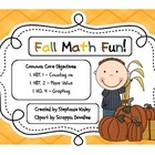 Common Core Fall Math Fun
