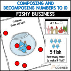 Common Core: Fishy Business, Composing and Decomposing Num