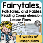 Common Core Folktales, Fairytales, Fables, Oh My! Unit of Study