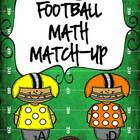 Common Core Football Math Match-Up