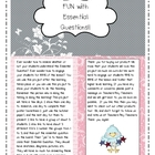 Common Core Fun Essential Question Project for Small Group