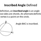 Common Core Geometry. Chapter 9. Circles
