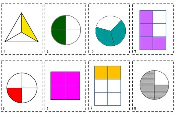 Common Core Geometry Fractions