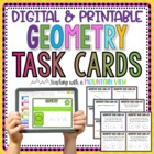 Common Core Geometry Task Cards