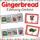 Common Core: Gingerbread Literacy Centers