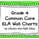 Common Core Grade 4 Wall Charts