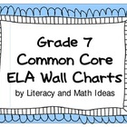 Common Core Grade 7 Wall Charts