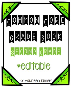 Common Core Grade Book 2nd Grade